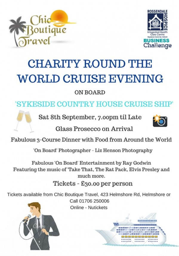 Charity Round the World Cruise Evening