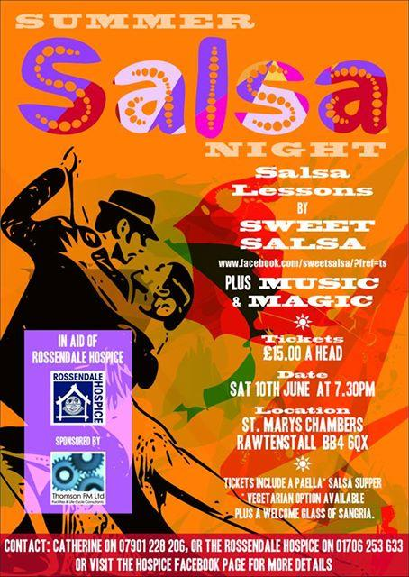 Salsa Night Poster