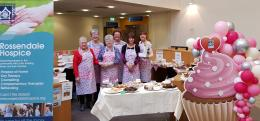 Friends of the Hospice at the cake sale