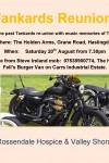 Steve Ireland Tankards Reunion 20th August