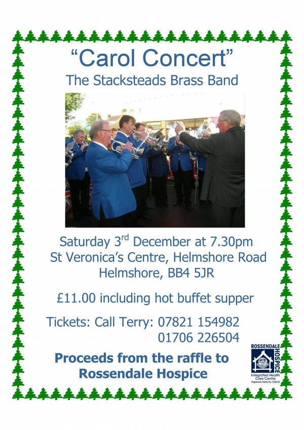 Carol Concert with Stacksteads Band