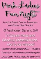 Pink Ladies Night poster