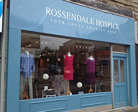 Our Shops for Rossendale Hospice