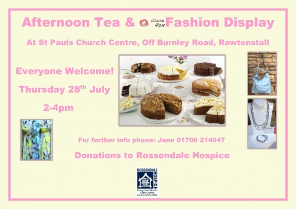 Afternoon Tea & Fashion!