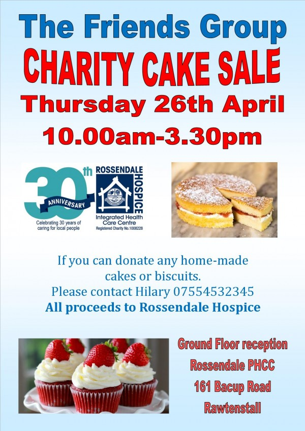 Friends Group Cake Sale