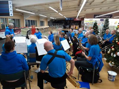 Rossendale Valley Sounds performing