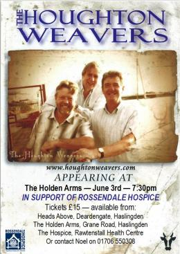 Houghton Weavers at Holden Arms 3rd June 2017