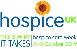 Hospice Care Week logo and information