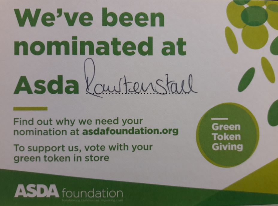 picture of asda nomination card