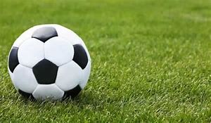 image of a football on a football pitch
